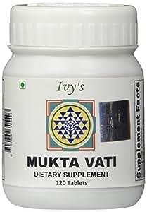 Original Ivy's Muktavati, 120 Count, Ayurvedic, 100% Natural