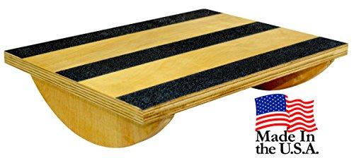 Core Prodigy - Balancín de madera para estiramiento, equilibrio y estabilidad