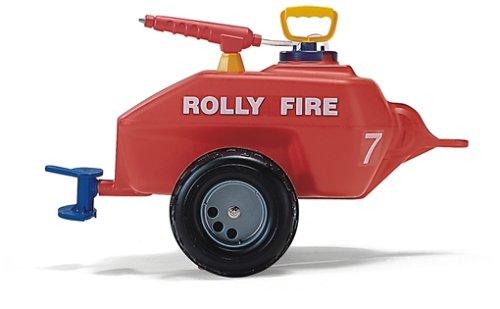 Feuerwehr Tretauto - rollyVacumax Fire Anhänger