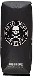 Image of the product Death Wish Whole Bean Coffee, The Worlds Stronges that is listed on the catalogue brand of Death Wish Coffee Co.. With an score of 4.0.