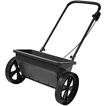 Precision Products DS4500RDGY 75-Pound Capacity Deluxe Step-Up Drop Spreader