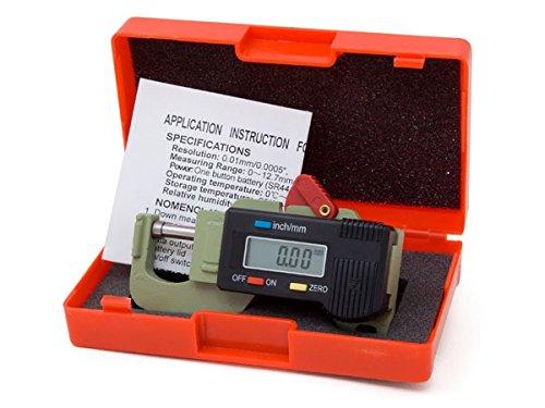 Digital 12.7mm Pocket Thickness Gauge Stainless Steel Tool 12 Months Warranty Digital Micrometers Ltd DML1650