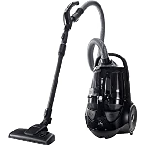 Samsung Bagless Canister Vacuum - Black