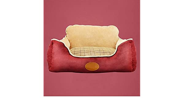 Lonshi Teddy Kennel Desmontable y Lavable Four Seasons Pet Mat Large Mediano Perro pequeño Bichon Golden Retriever Dog House Bed Bed: Amazon.es: Hogar