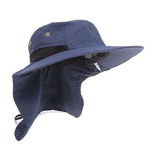 L&M Sun Hat Headwear Extreme Condition - UPF 45+ (Navy)