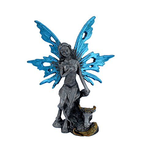 Statue Sign (Pixie Glare Zodiac Signs Pewter Fairies Figurine Collectible Statue. All 12 Signs Available (Taurus))