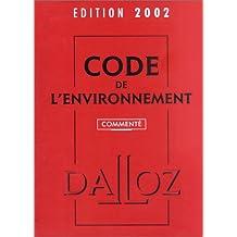 Code de l'environnement 2002