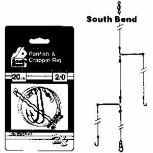 South Bend Sporting Good Wwcr6 Crappie Leader Rigs Sz 6, Outdoor Stuffs