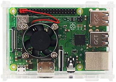 Andifany Para Raspberry Pi 3 Model B+ Estuche Acrilico Cascara ...