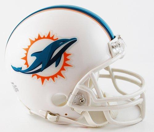 (New Riddell Miami Dolphins VSR4 Mini Football Helmet)