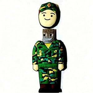 soldado - Pendrive Memoria USB Flash Drive 8 GB