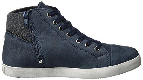 Tamaris Damer 25.283 Høj Sneaker Blå (Flåde) bzRXKrLy