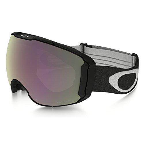 Oakley Men's Airbrake XL (A) Snow Goggles, Jet Black, Prizm Hi Pink, - Goggles Oakley Airbrake Snow