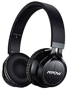 Mpow Thor, Auriculares de Diadema Casco Bluetooth Inalámbrico con Micrófono Casco Plegable Headphone Bluetooth Manos Libres y Cable de Audio