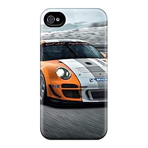 High-end Cases Covers Protector For Iphone 6plus(porsche 911 Gt3 R Hybrid 3)
