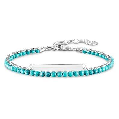 Thomas Sabo bracelet turquoise A1670-878-17-L19v Thomas Sabo pm9epZ1nY