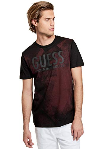 Faded Logo Tee - GUESS Factory Men's Daviz Faded Logo Tee