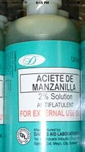 Chamomile Oil - Aceite De Manzanilla - 120 ml Bottle from J. Chemie