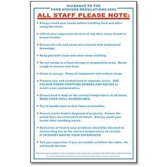 the food hygiene regulations 2006