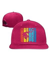 An Ping Greece Greek Retro 1970's Style Baseball Cap Men/Women Flat Bill Trucker Hat