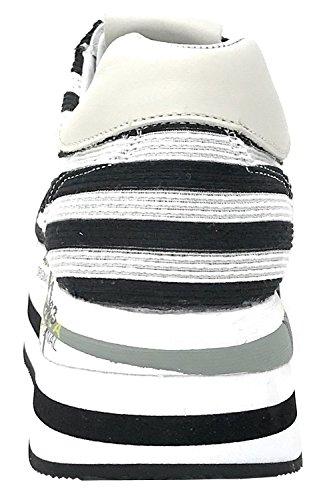 Blanco Beth Para PREMIATA V 2989 Negro Deportivas Mujer Zapatillas SdX0x0Tqw