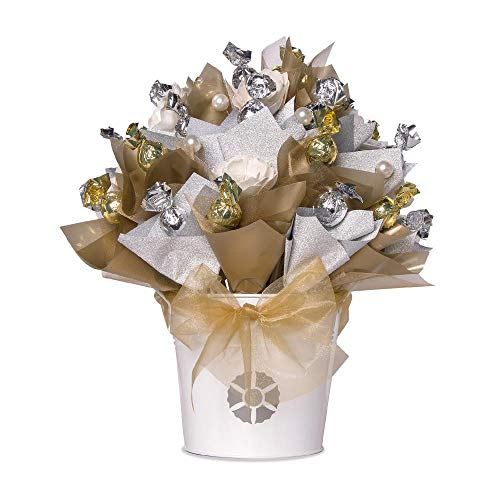 (Bloombaes Royale Chocolate Bouquet - Supreme Size - Dark Chocolate Truffles)