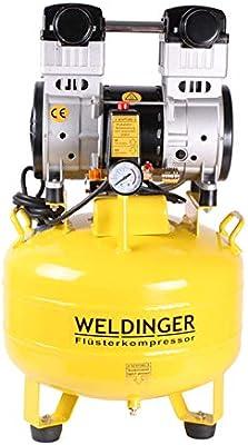 weldinger Compresor silenciosos FK 150 Up 35 L Tank 1200 W (Silent ...