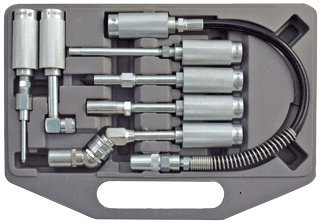 Grease Fitting Adapter Set ( Most popular fitting in one kit )