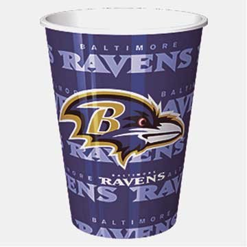 Baltimore Ravens Plastic Cup ()