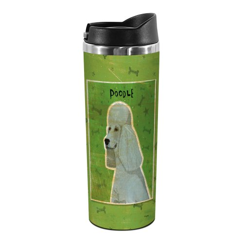 Tree-Free Greetings TT02056 John W. Golden 18-8 Double Wall Stainless Steel Artful Tumbler, 14-Ounce, Grey ()