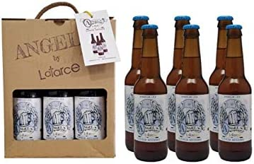 Cervezas Artesanas Latarce | Pack Cartón 6 Cervezas Variedad American I.P.A Angels By Latarce | Cervezas American I.P.A | Cervezas Artesanas | Cerveza Artesana: Amazon.es: Alimentación y bebidas