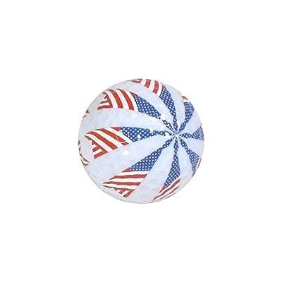 Nitro Novelty Golf Balls Flag 4 Display Tube (3 Pack)