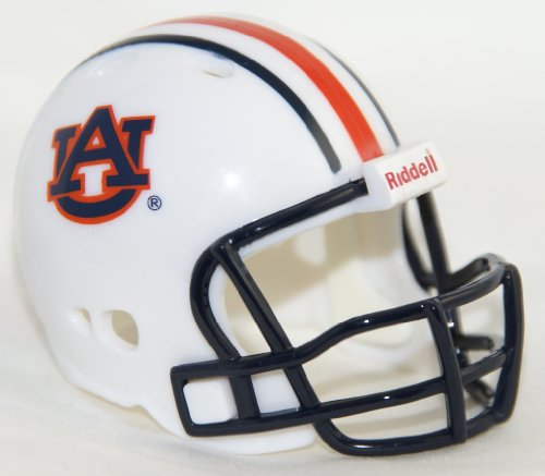 - AUBURN TIGERS NCAA Riddell Revolution POCKET PRO Mini Football Helmet