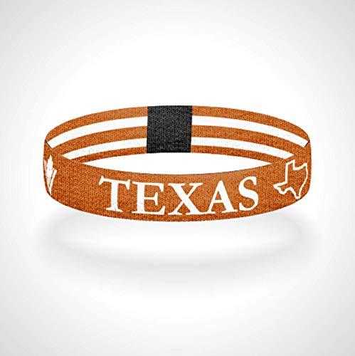 Texas Strong Reversible Wristband Bracelet