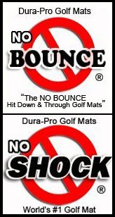 3'x5' GORILLA Perfect ReACTION Golf Mats. Use Real Wood Tees. At Last a No Bounce, Hit Down & Through Golf Mat. The Next Generation in Golf Mats. No Rubber Tees Required. No Club Shock 1 3/4'' Thick. by Gorilla Perfect ReACTION Golf Mats (Image #2)
