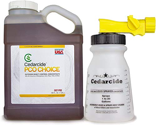 Cedarcide PCO Choice (Gallon) Cedar Oil Bug Killing Concentrate Yard Spray | Safe Pest Control Spray | Kills and Repels…