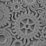 Cool Tools - Flexible Texture Tile - Steampunk
