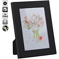 Spy Camera Photo Frame Camcorder ,Durwyn 8GB Home Bedroom CCTV 1280×960 Pixel Office Motion Detection Mini Dv Mini Camera Dvr Video AVI Hidden Cameras
