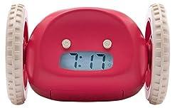 Nanda Home Clocky Alarm Clock On Wheels