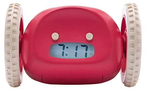 416Visd 2B38L - Clocky Alarm Clock On Wheels