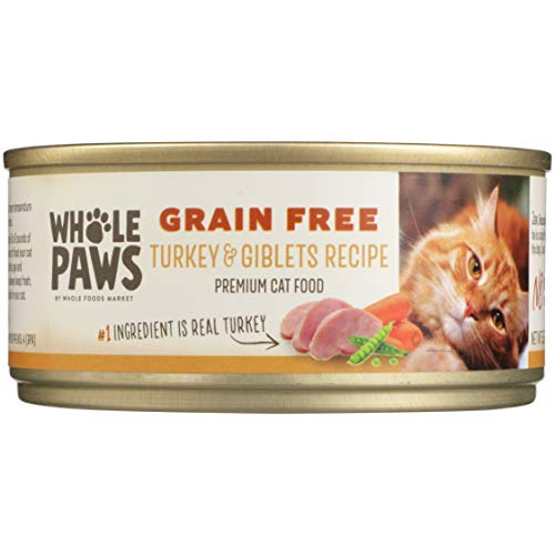 Whole Paws Grain Free Turkey & Giblets Recipe, 5.5 oz