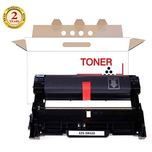 Drum Unit Replacement For Brother DR420 DR-420 1 Pack Black 12,000 Page High Yield For Brother HL-2230 HL-224 HL-2270DW DCP-7060D Printers