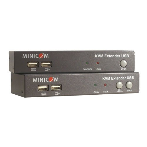 TRIPP LITE Minicom KVM Extender USB local port + 2-Port KVM TAA GSA (0DT60001) by Tripp Lite (Image #3)