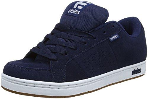 Etnies Men Kingpin Skateboarding Shoes, Dark Blue Blue (478-navy/White/Gum)