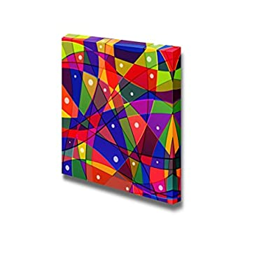 Canvas Prints Wall Art - Colorful Abstract Pattern | Modern Wall Decor/Home Decoration Stretched Gallery Canvas Wrap Giclee Print. Ready to Hang - 24