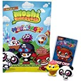 Moshi Monsters Moshlings Toys Mini Figure 2Pack 2 RANDOM Figures Virtual Prize Code!