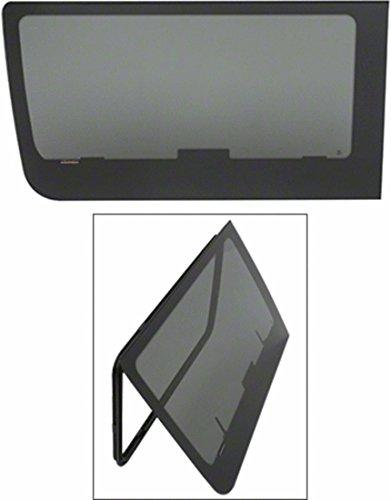 CRL 2007+ OEM Design 'All-Glass' Look Fixed Egress Window for Sprinter Van with 144