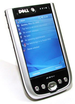 Amazon dell axim x51v handheld windows mobile 50 37 dell axim x51v handheld windows mobile 50 37quot color tft 480 freerunsca Images