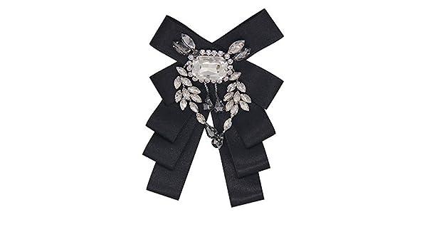 YYB-Tie Corbata Moda Corbata de Lazo Broche de Corbata de Lazo de ...