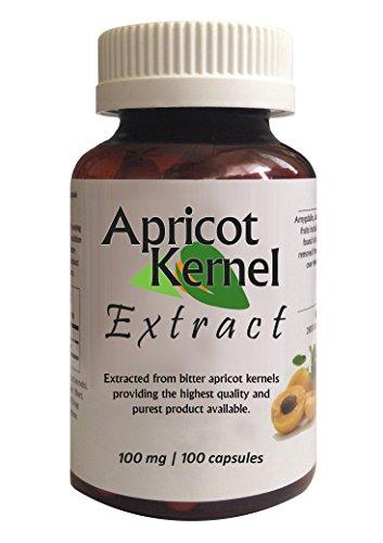 Абрикосовое экстракта, 100 мг, 100 капсул